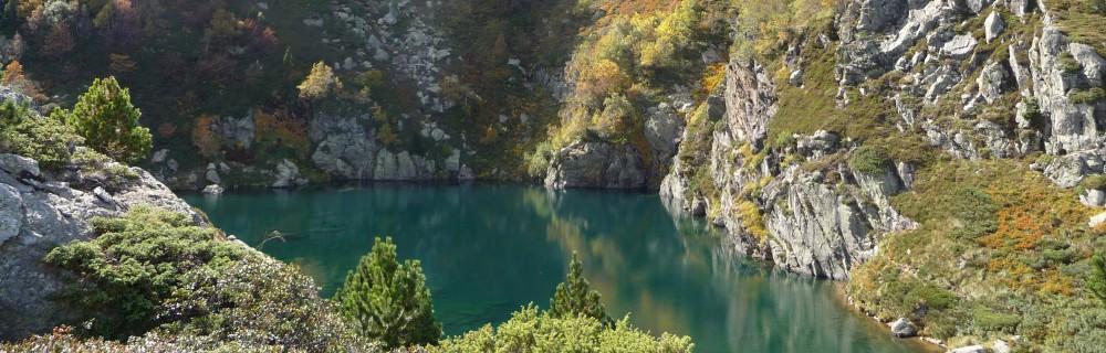 L'étang des Truites- Massif de Tabe