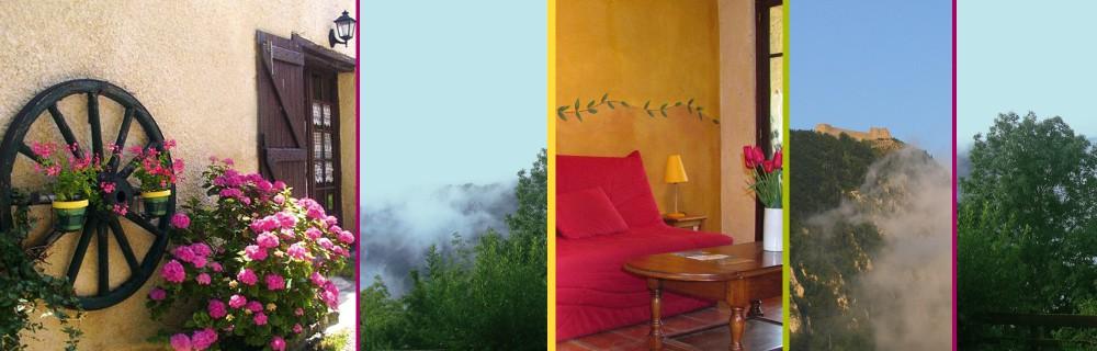 Gite de Serrelongue à Montségur