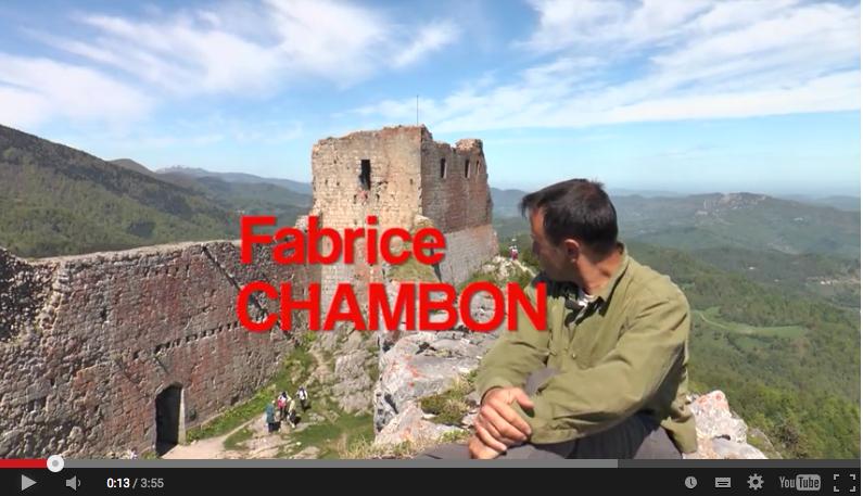 Montsegur et fabrice Chambon